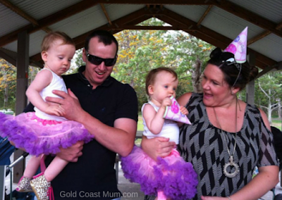 Twin girls 1st Birthday, gold coast twins first birthday, twin girls, princess skirts, tulle skirts, gold coast mum.com