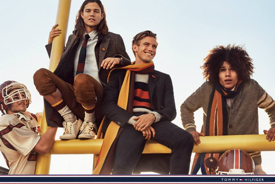Behati Prinsloo gets sporty for the Tommy Hilfiger Fall/Winter 2015 Campaign