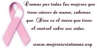 Tarjeta – Oración por las mujeres con cáncer de mama