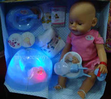 New Zapf Creation Baby Born w Light n Music (menitiskan Air Mata)eyes can blink!!! RM 80 only!!!