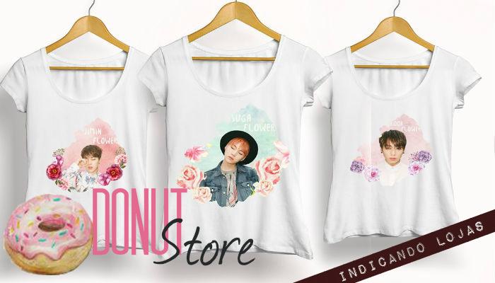 Donut Store, k-pop, loja de camisetas k-pop