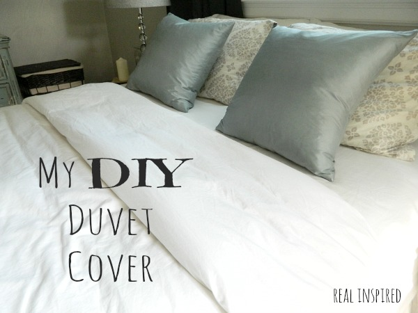 Real Inspired My Diy Duvet Cover