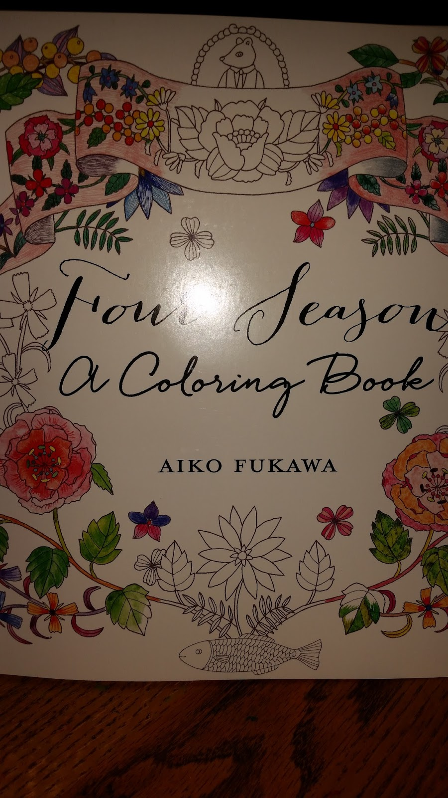 mommy u0027s block party four seasons a coloring book by aiko fukawa