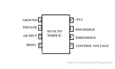 555 timer ic pin configuration