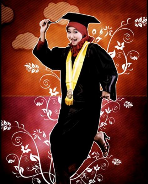 Kebaya Muslim Modern Wisuda