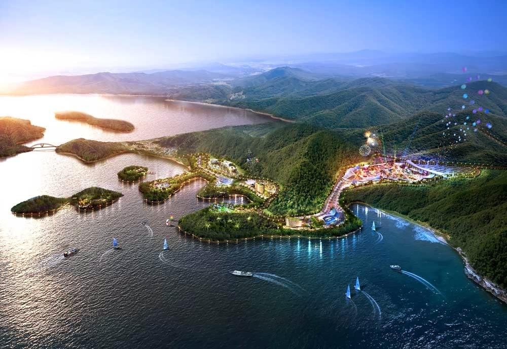 Parque temático de robots en Corea