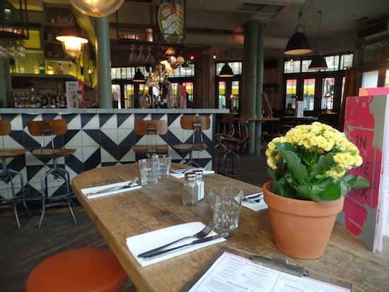 Revolution Derby Restaurant Menu Review