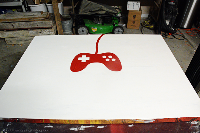 DIY Gamer Canvas Art