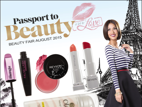 Robinsons Beauty Fair August 2015: Passport to Beauty