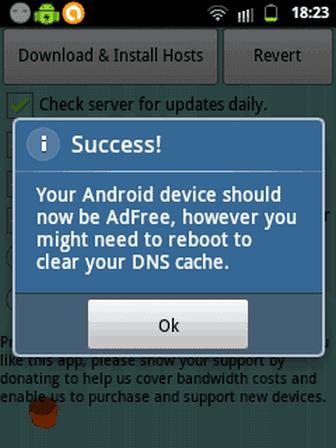 cara menghilangkann iklan android