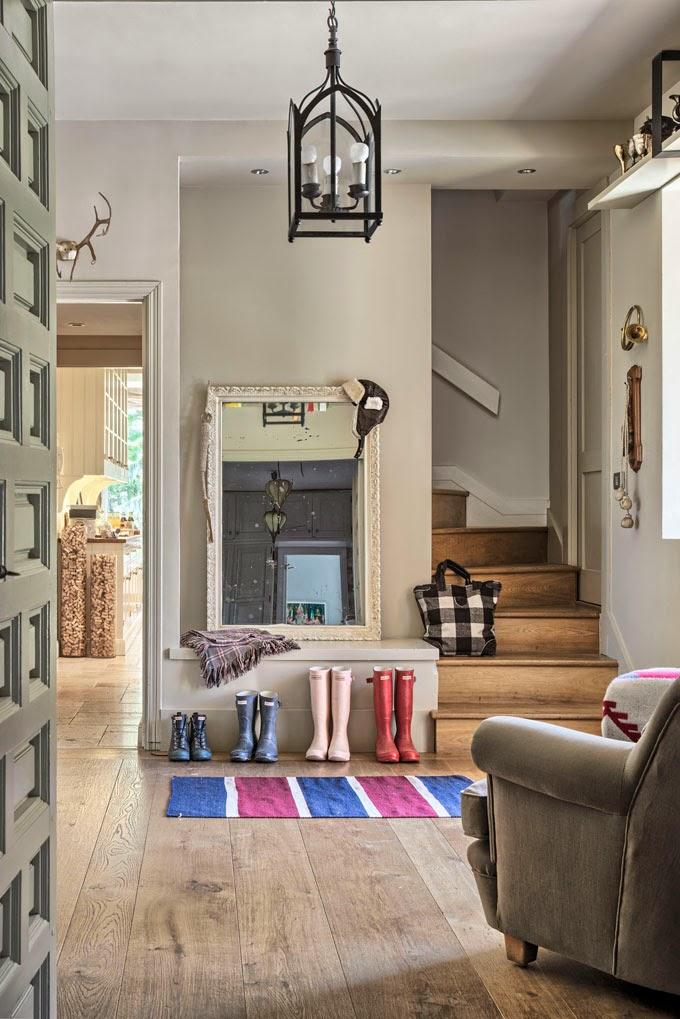 Decoraci n f cil una casa de estilo american vintage en for Casas estilo vintage
