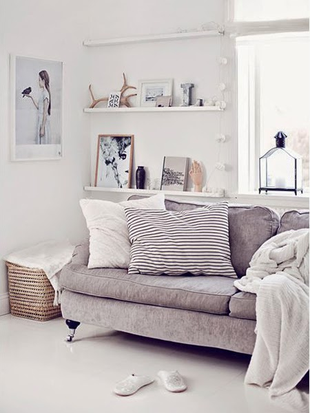 Przepiękna jasna sofa z Domoteki