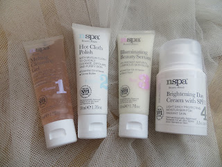 NSPA, Review, Blogger, Skincare, Girl, Pretty, Muslin, Polish, Spa, Cleanser, Moisturiser, SPF, Serum