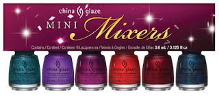 China Glaze Mini MIxers