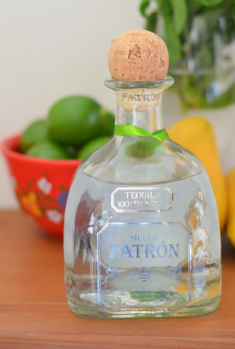 Mango + Mint Margaritas Recipe with Patron Tequila - cinco de mayo | Luci's Morsels