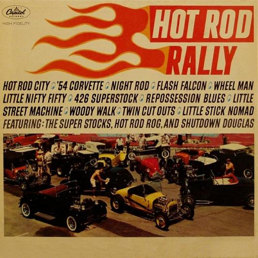 Jerry Kole & The Strokers - Hot Rod Alley