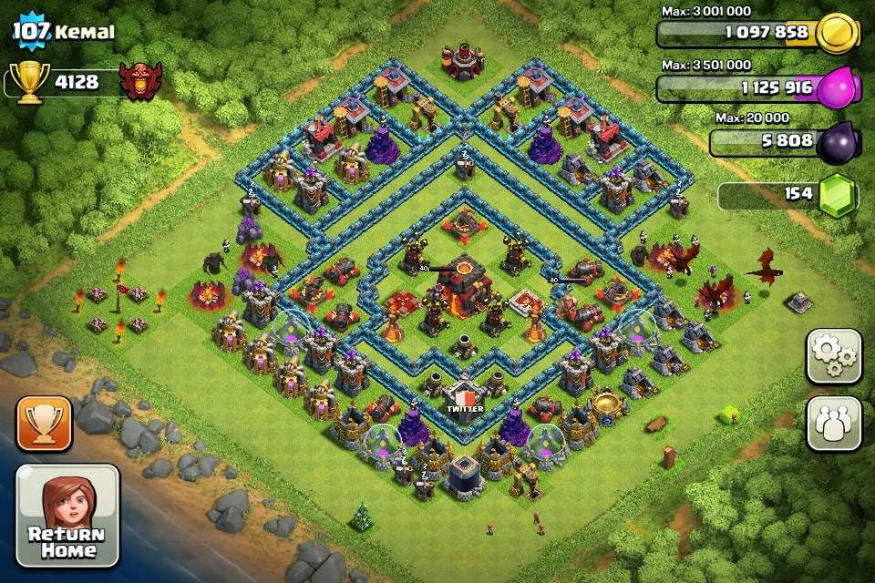 Clash of Clans Town Hall Level 8