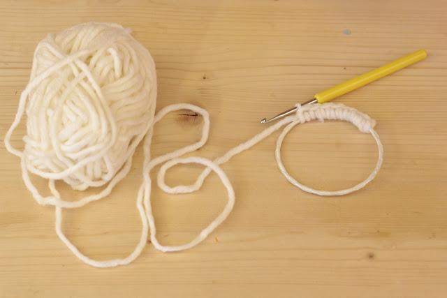 diy cadre au crochet pour noel
