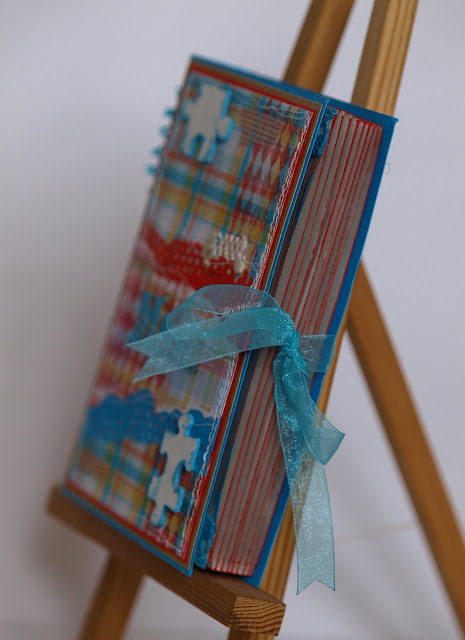 milosna_walentynka_kartka książka_ Puzzle_organza