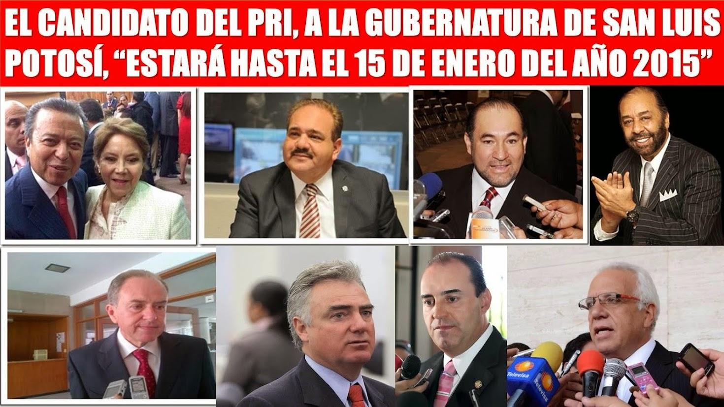 ELECCIONES 2015 EN SAN LUIS POTOSÍ.