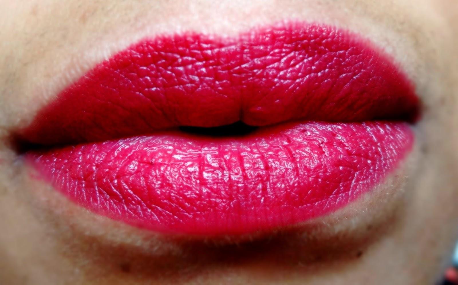 elf studio matte lip colors wine
