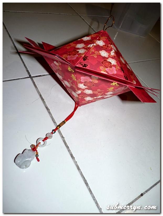 Китайский зонтик поделка