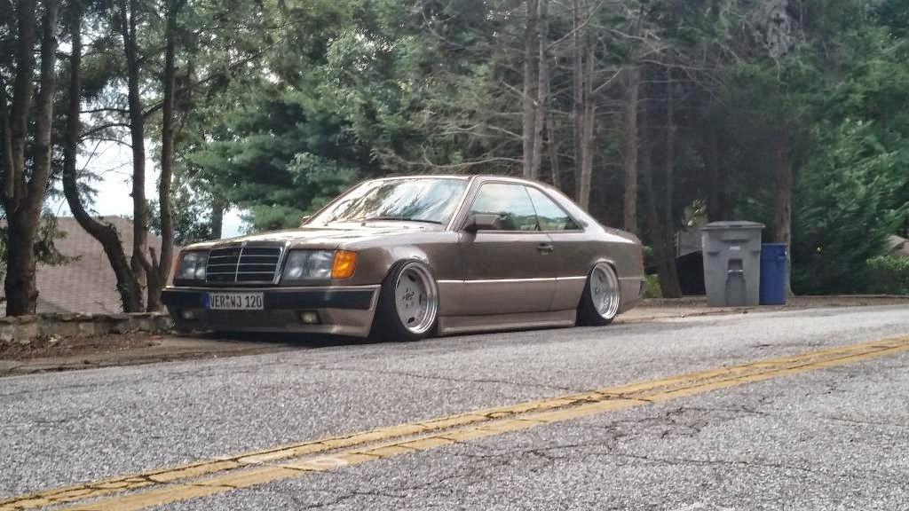 Mercedes Benz W124 Coupe Stance Style On Oz Amg Aero S