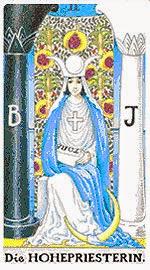 Значение на Таро карта II Висшата жрица - хороскоп за 2015 година