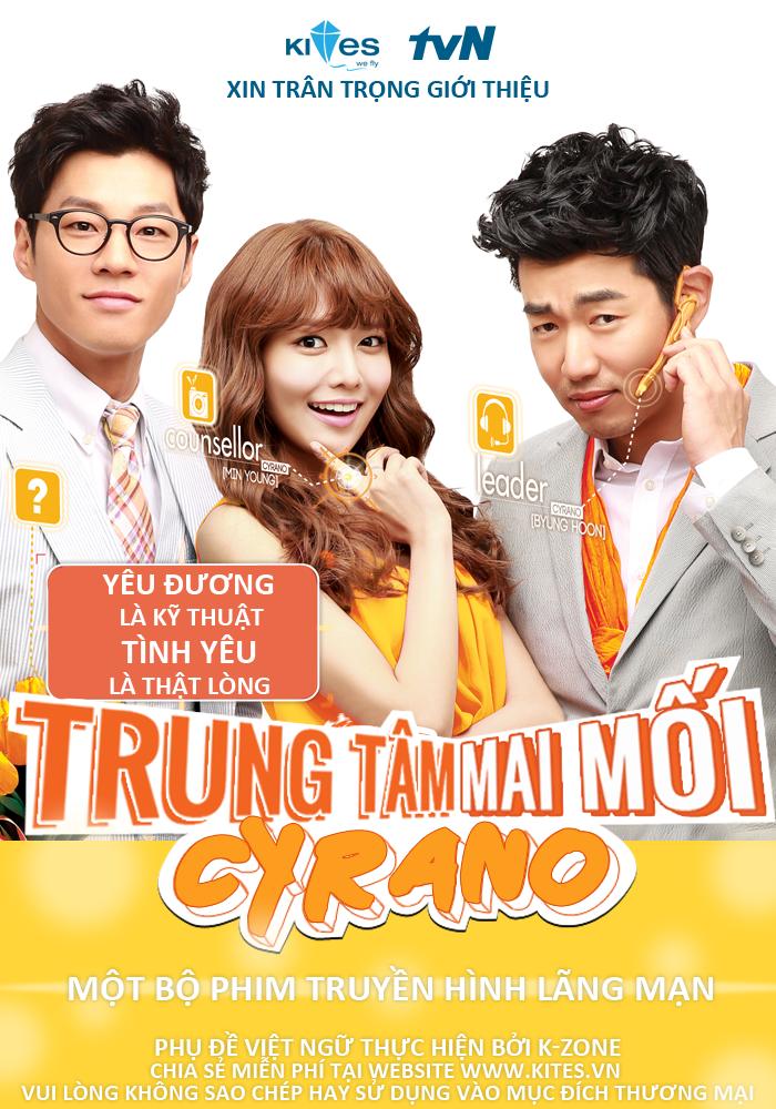 Phim Trung T m Mai M i Cyrano Full 16 T p (H n Qu c)