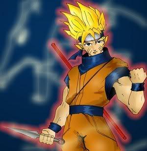 Naruto Goku fusion  Gokuro