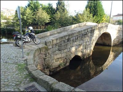 ponte de são Lázaro no rio Leça