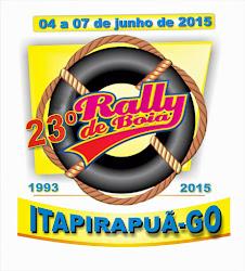 23º Rally de Bóias de Itapirapuã - 2015