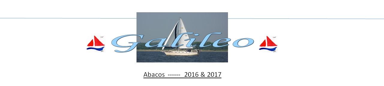 Galileo  -----  Abacos 2016 - 2017