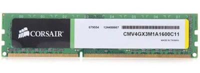 RAM Corsair CMV4GX3M1A1600C11
