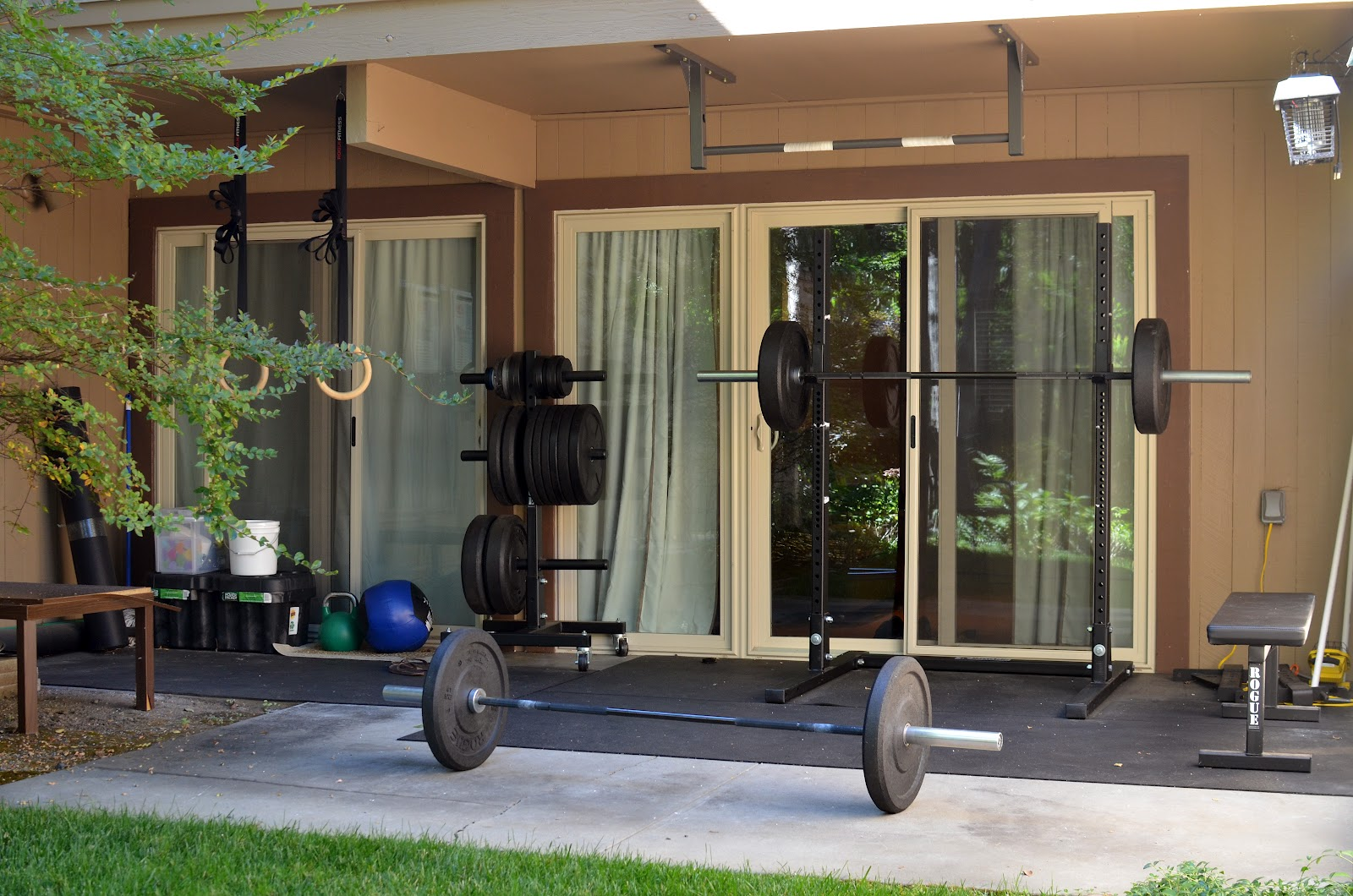jes crossfit blog my home gym