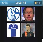 solution quiz de football niveau 45
