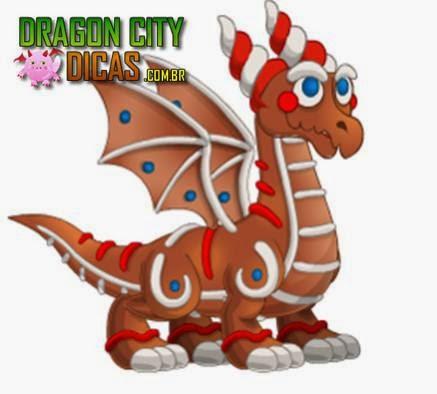 Dragão Biscoito de Gengibre