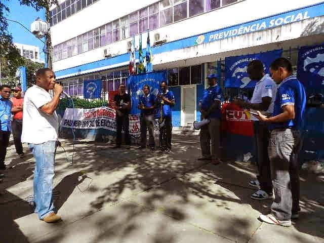 Sindicato dos Vigilantes de Itabuna em luta pelo piso salarial de 3 mil reais