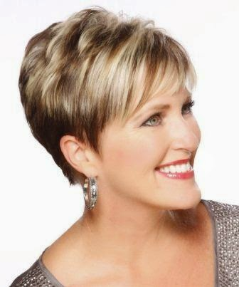 fancy bun hairstyles : Fabulous Short Hairstyles for Women Over 50 ~ Darby Larson Blog