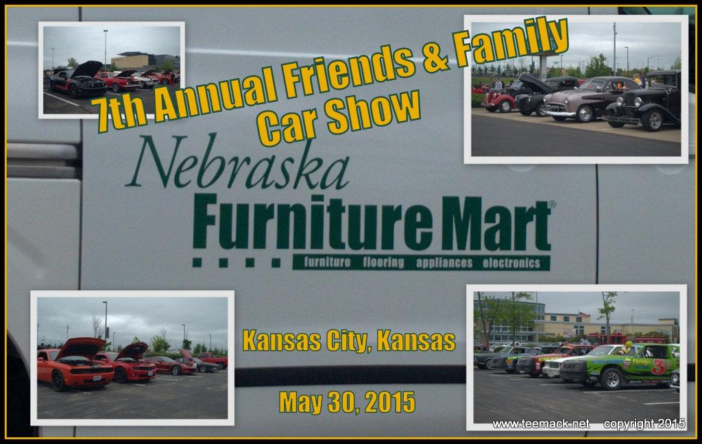 2015 Nebraska Furniture 7th Annual Car Show