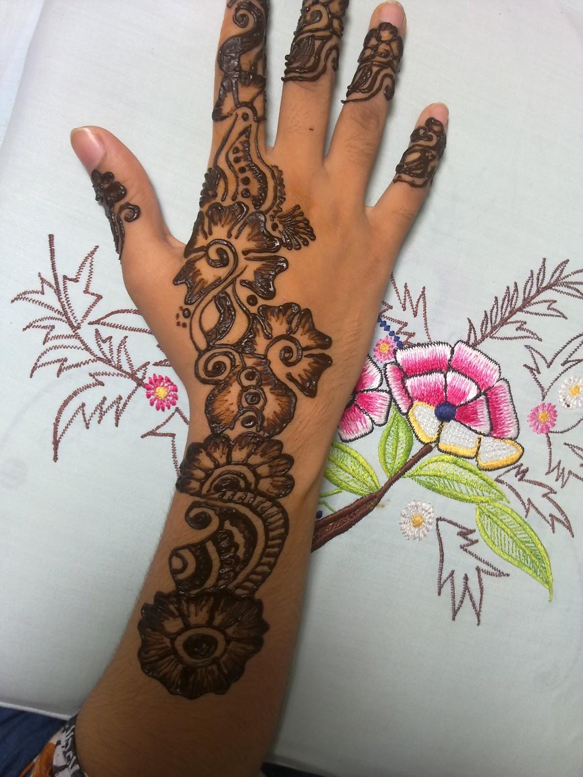 Nice Mehndi Patterns : Fashion ki dunia nice mehndi designs