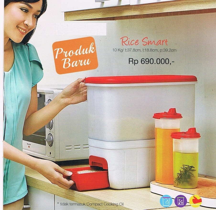 Rice Smart Tupperware