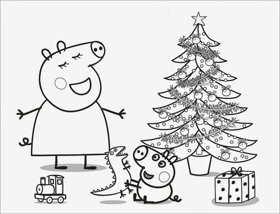 Da Peppa Pig para Colorir e Imprimir Dibujos para Colorear View Image