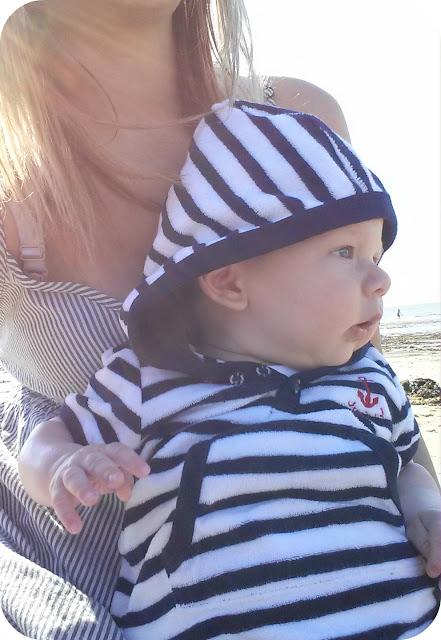debenhams kidswear, Archie, baby beach