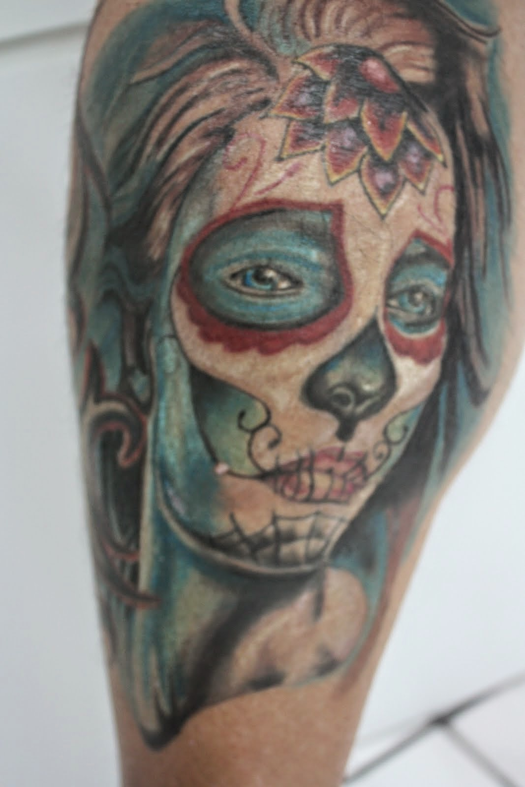 Amazing Catrina Tattoos Design Idea