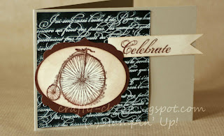 Feeling Sentimental, stampin' Up, blackboard technique, handmade cards, heat embossing