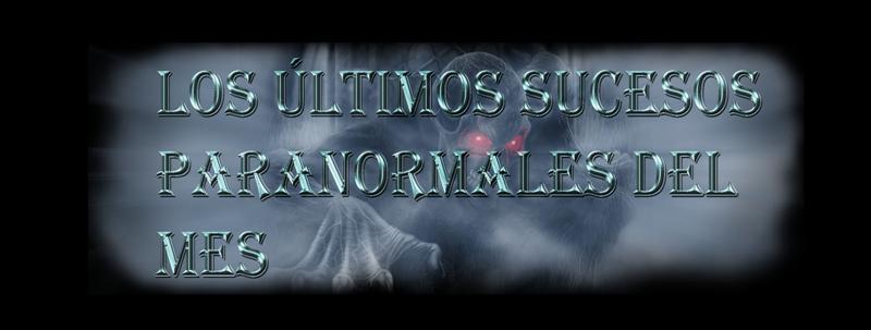 Noticias Paranormales y otras curiosidades