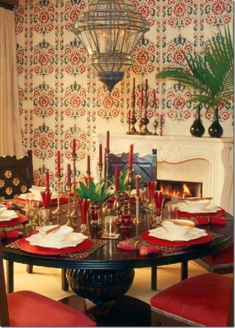 تصميمات رائعه لغرف المعيشه المغربيه  Exquisite-moroccan-dining-room-designs-10