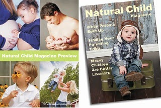 Image: Free Natural Child Magazine preview