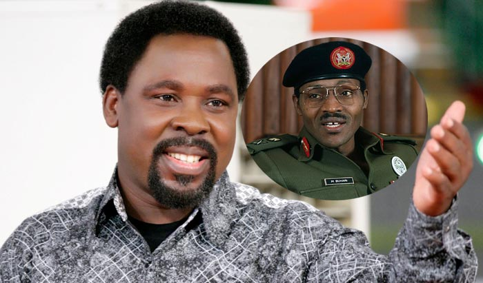 Pastor T. B. Joshua: There Will Be Famine In Nigeria, Pray For Buhari